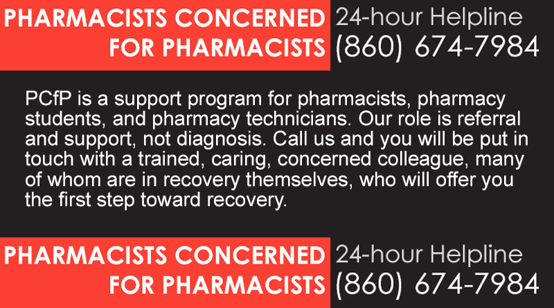 Pharmacists Concerned for Pharmacists